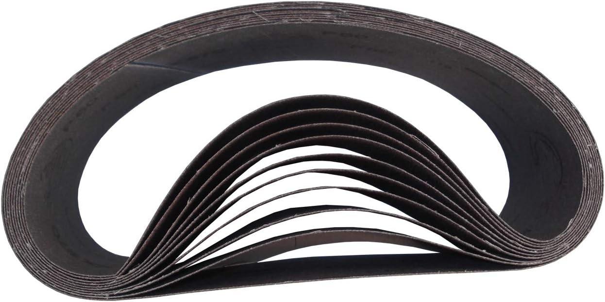 GRANO 100, 10 UNIDADES Bandas de lija HANDIT 100x915 mm.