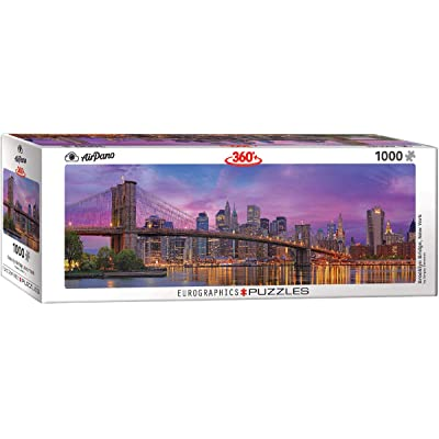 EuroGraphics Brooklyn Bridge New York 1000-Piece Puzzle: Toys & Games