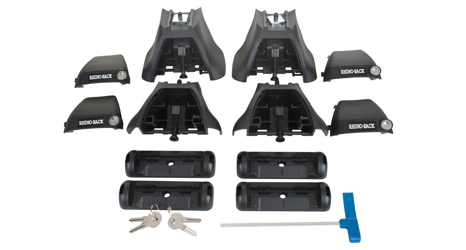 Rhino-Rack (4) for Vortex Aero Leg Kit by Rhino Rack