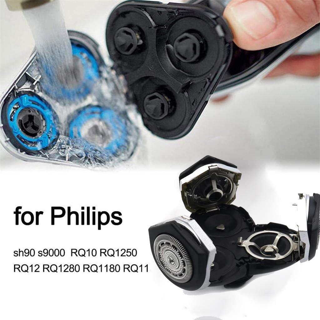 Lukame Accesorios de afeitar cabezal de afeitado para Philips-Rq12 ...