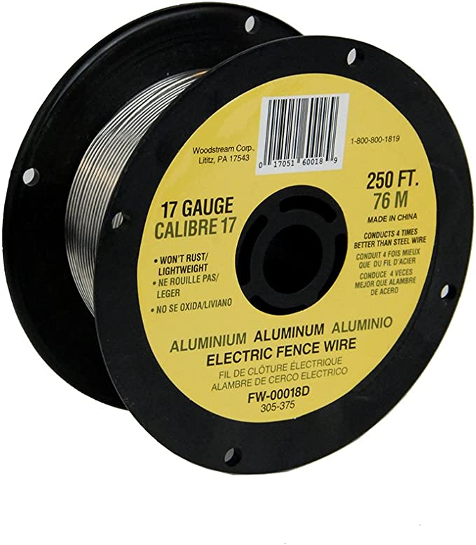 Field Guardian 9 GA Aluminum wire 4000/' electric fence AF9400 814421012579