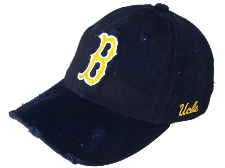 newest 67c9b f60bb ... sale amazon retro ucla bruins brand navy worn vintage style flexfit hat  cap s m sports outdoors