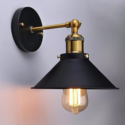 Luz de pared ajustable vintage industrial Edison simplicidad ...