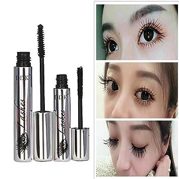 1a8b0805651 DDK 4D Magic Black Silk Mascara Makeup Set Eyelash Extension Lengthening  Volume 4D Fiber Mascara Waterproof