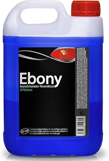 Sisbrill Ebony Acondicionador y Protector de Neumáticos - Negro ...
