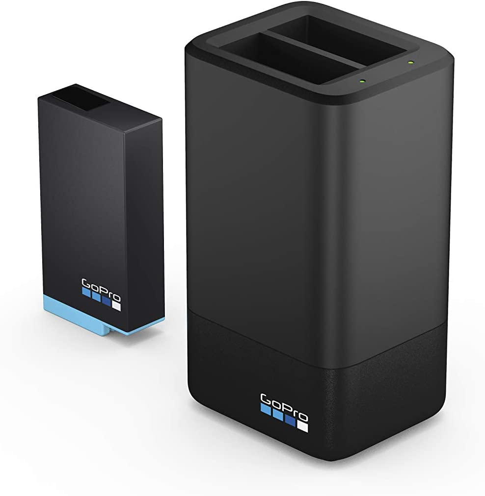 GoPro Dual Battery Charger + Battery (MAX)- Official GoPro Accessory : Camera & Photo