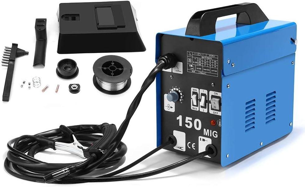 SUNGOLDPOWER Equipos de soldadura MIG 150 230V Hilo Continuo S/G