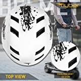 Flybar Dual Certified CPSC Multi Sport Kids & Adult Bike and Skateboard Adjustable Dial Helmet – Multiple Colors & Sizes
