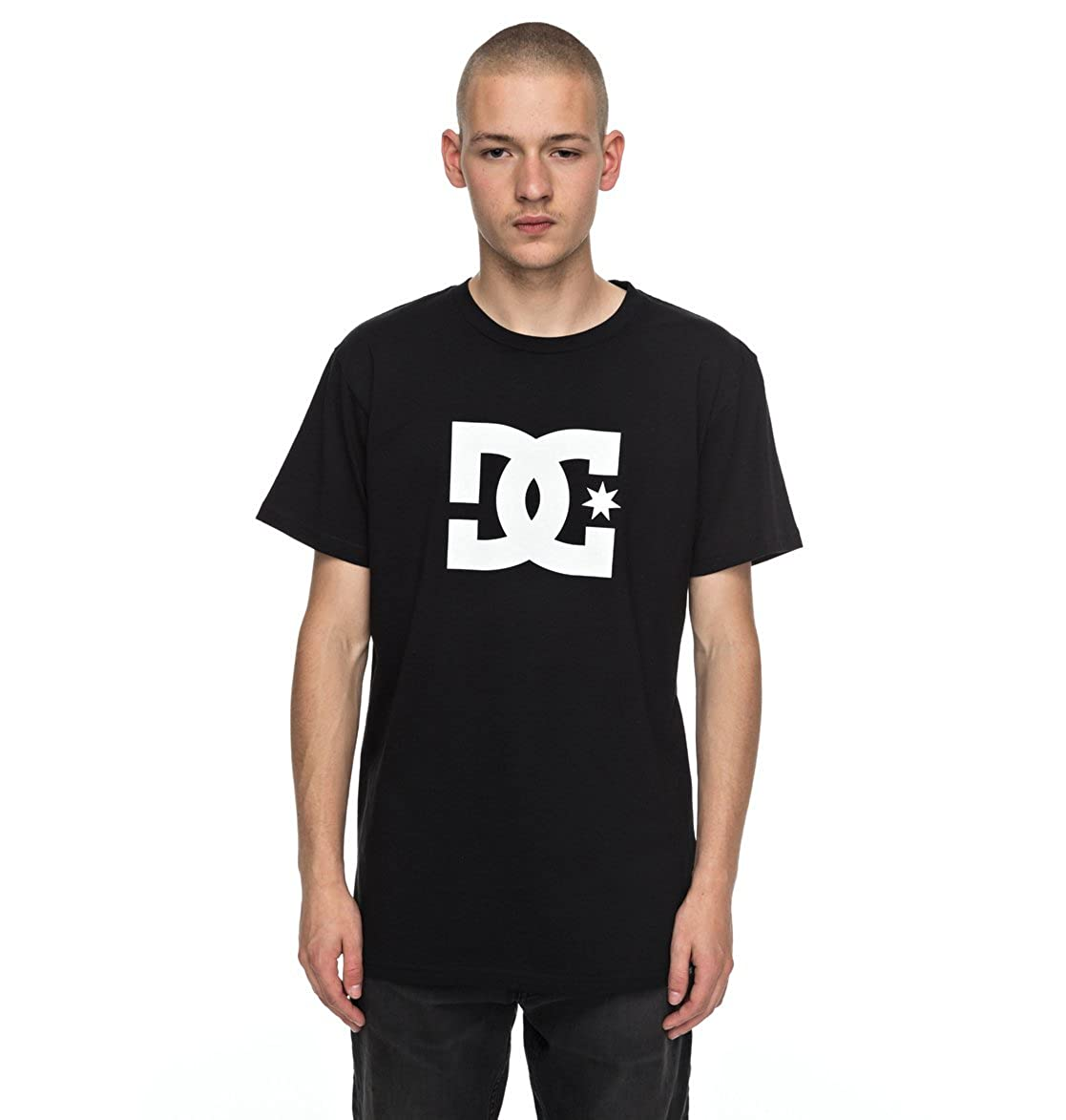 noir 2016 M DC Star manche courte Chemise à Boutons, Porcelaine Rose, S Homme
