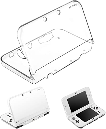 Amazon Com For New 3ds Xl Clear Case By Insten Ultra Clear Crystal