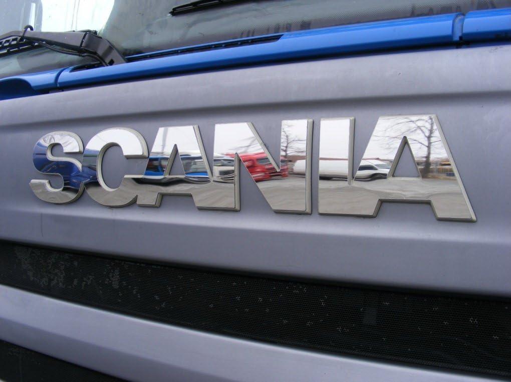 Cubierta de señal de espejo para SCANIA R, P y G Series 2010-2016 años hecha de acero inoxidable pulido camión camionero accesorios de decoración frontal