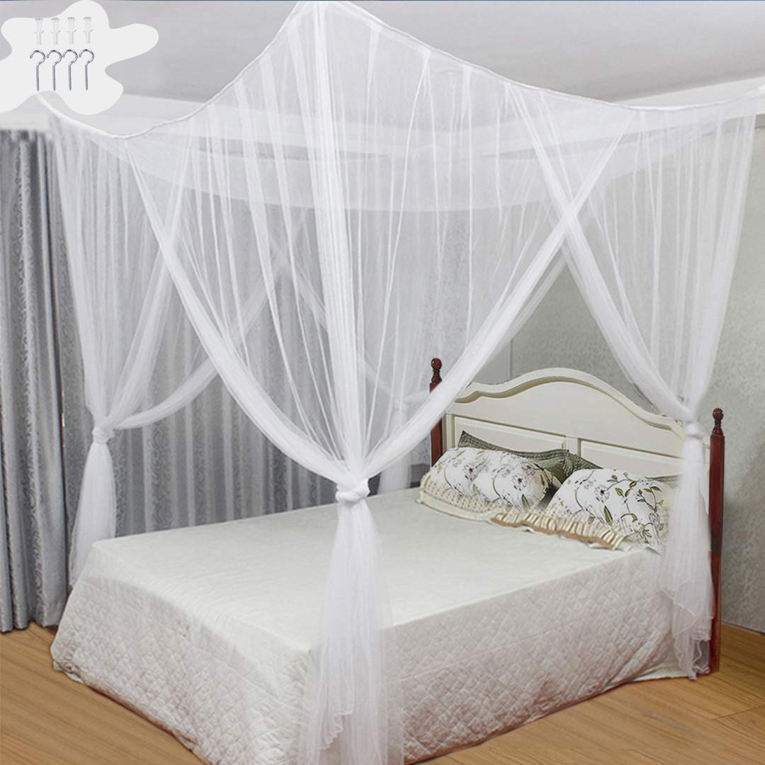 Foldab Tinyuet Mosquito Net Portable Travel Mosquito Net 150X200Cm Bed Canopy
