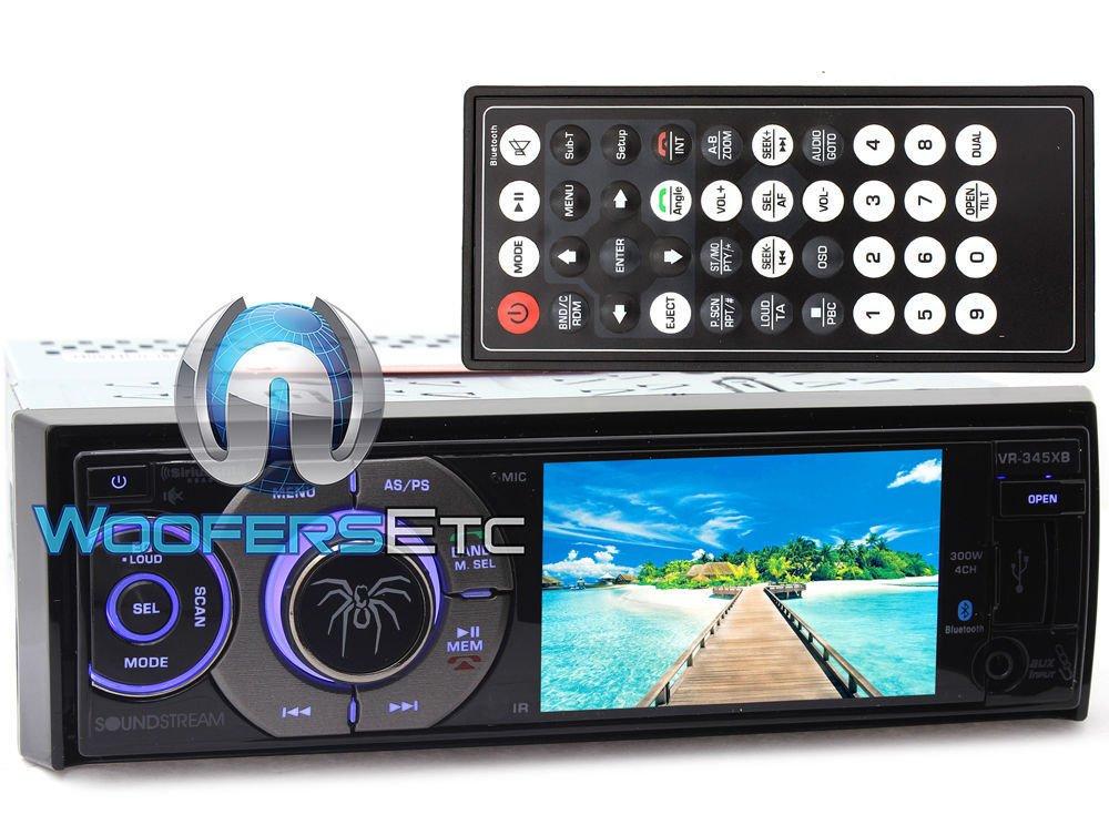 Soundstream VR‐345XB In Dash Media, 3.4''