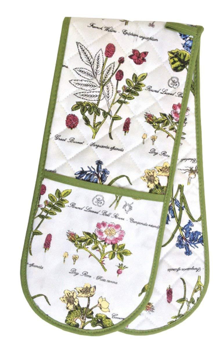 Samuel Lamont, Botanic Garden, British Double Oven Glove, Insulated, Cotton, Imported
