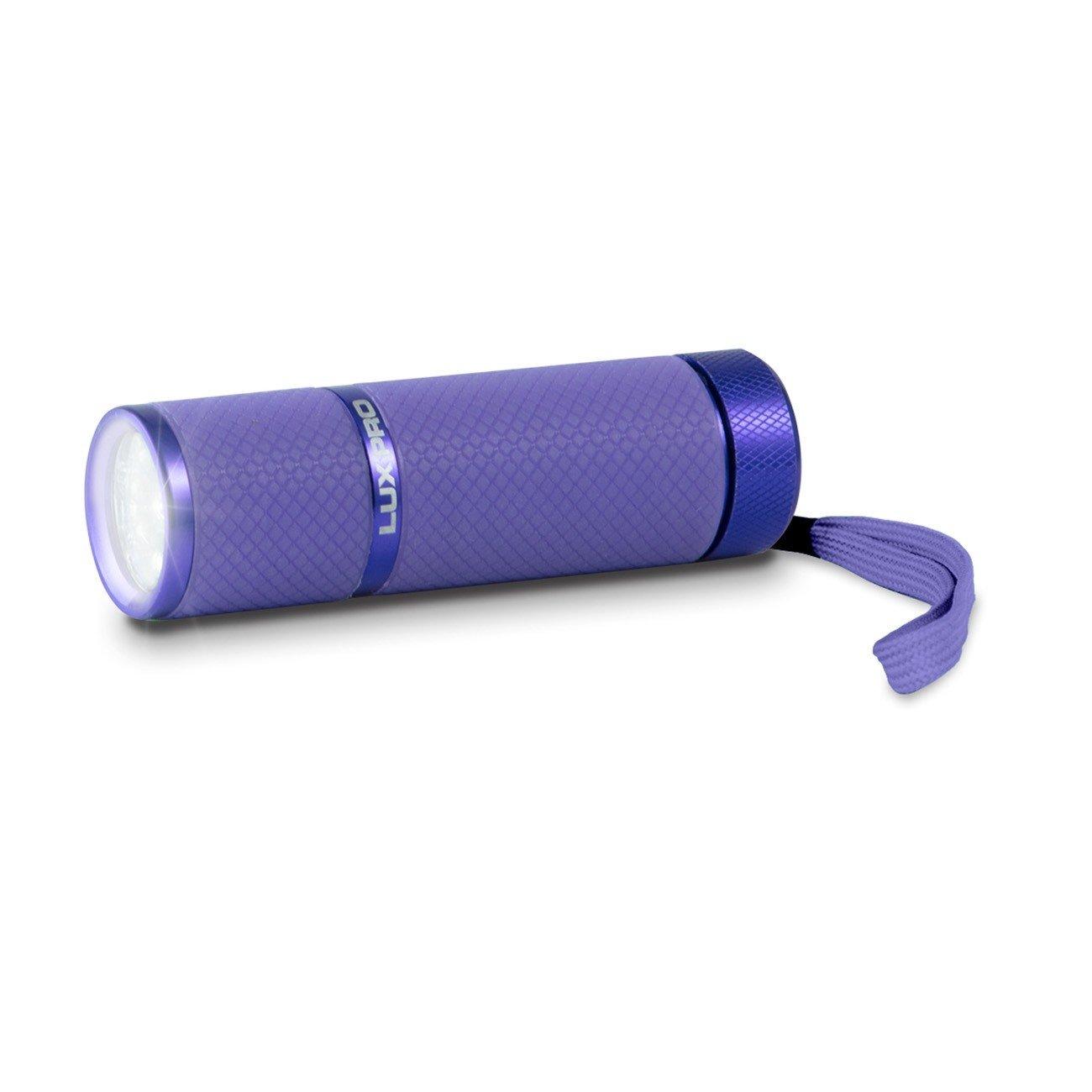 Lux-pro lp395-pr Gele Glow in Dark 9 LED Taschenlampe, Violett