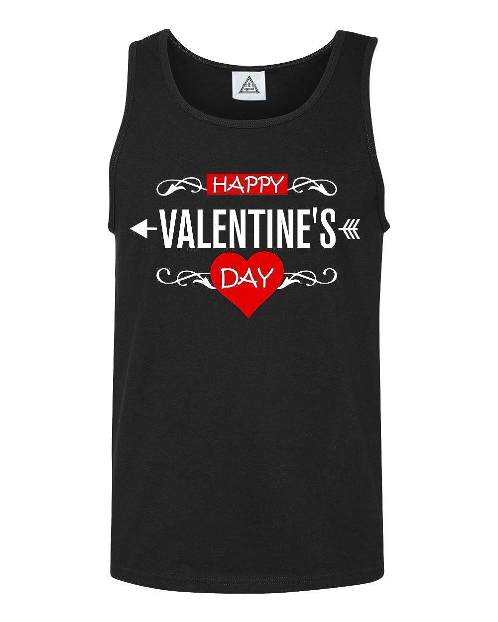 Sheki Apparel Happy Valentines Day Tank Top