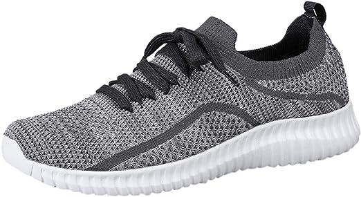 Darringls Hombre Zapatos para Correr Transpirables Resistente Running Zapatillas de Deporte Mujer Zapatillas Deporte Hombre Running Deportivas Zapatos para Correr Casual para Hombre 39-46: Amazon.es: Ropa y accesorios