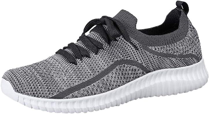 FAMILIZO Zapatillas Mujer Running Zapatillas Deportivas De Mujer Sneakers Women Primavera Moda Al Aire Libre Casual Cordones Deportivos Zapatos Run Transpirable Zapatos Zapatillas Deportivas: Amazon.es: Zapatos y complementos