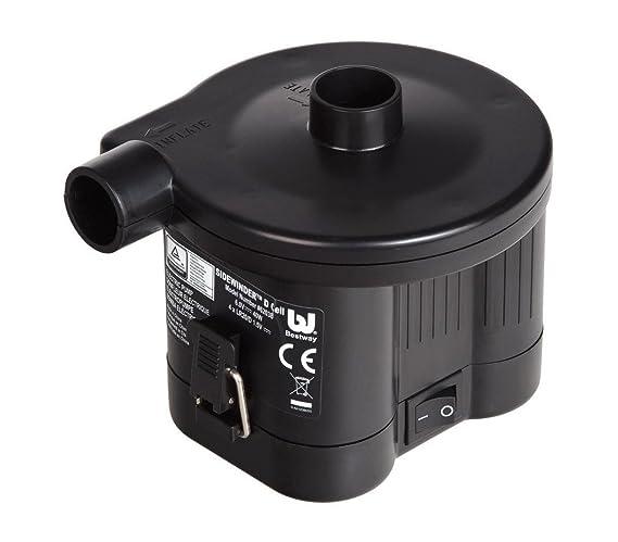 62038 Mini Compresor bomba de bateria Bestway válvulas 6 V hinchar y desinchar: Amazon.es: Hogar