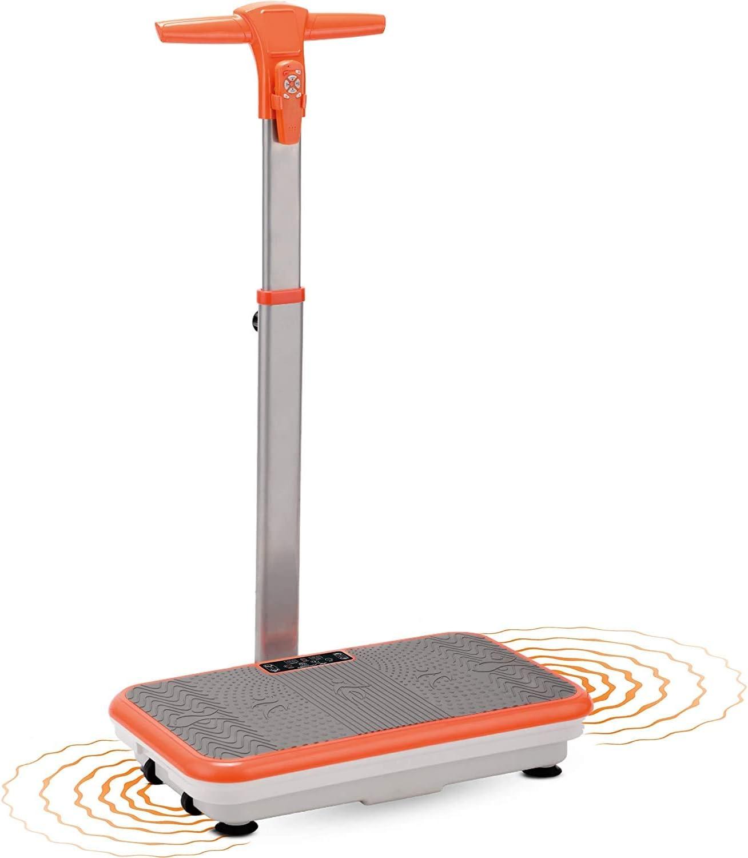 Mediashop Vibro Shaper- Vibrationsplatte mit Haltestange