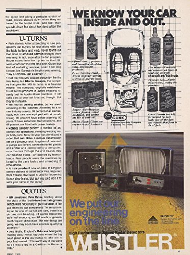 Galleon - 1980 Vintage Audio Electronics Advertisement