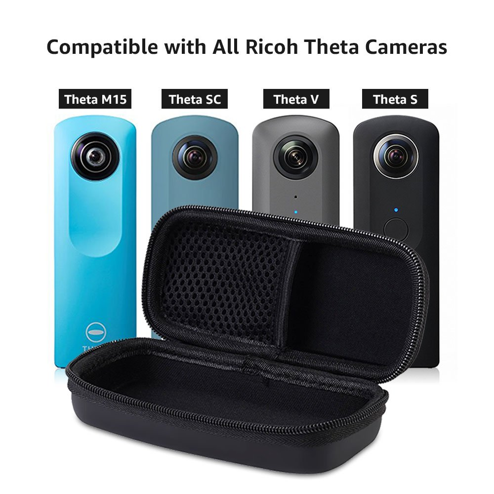 Aobelieve Carrying Case For Ricoh Theta S Sc Strap St 3 W V And M15 Electronics