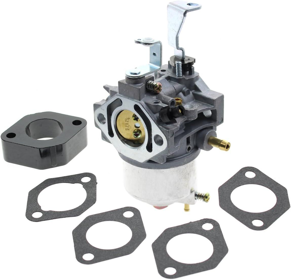 Carbhub 715670 Carburetor for Briggs & Stratton 715670 715442 715312 185432-0614-E1 185432-0037-01