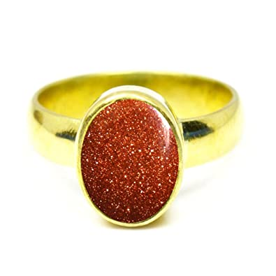 bague or forme main
