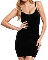 Shymay Women's Full Body Slip Cami Seamless Slimming Control Shapewear Dress