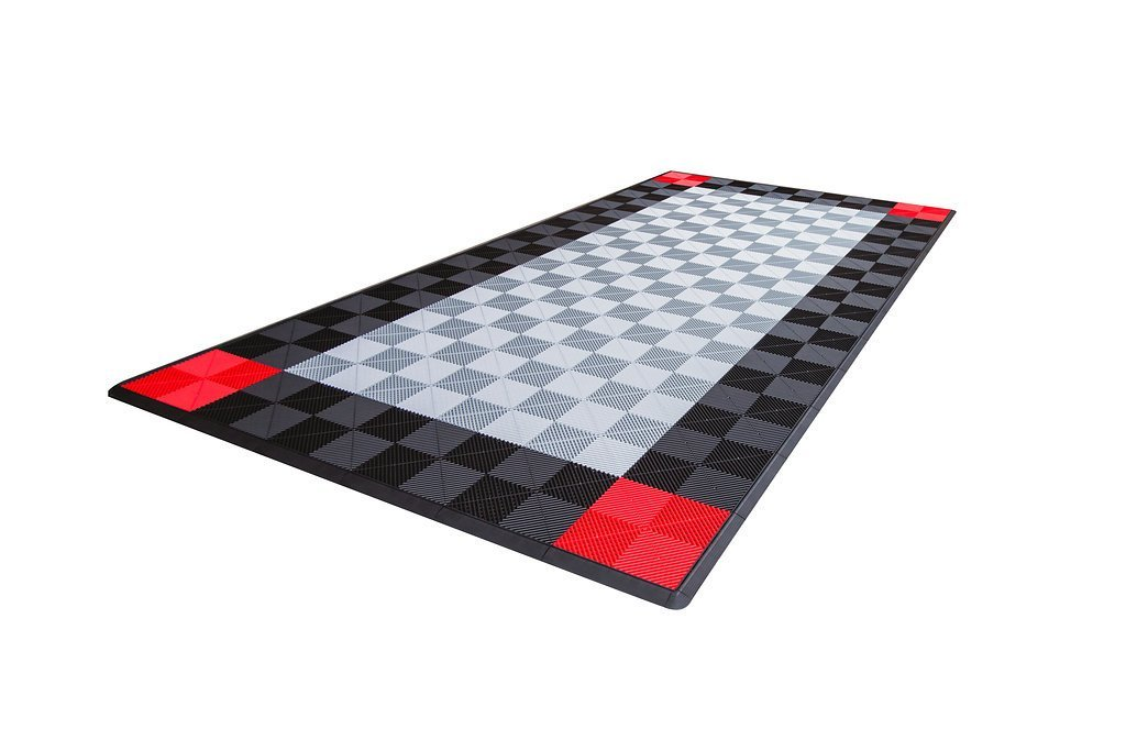 Dodge Single Car Parking Pad by Ribtrax - Design 2