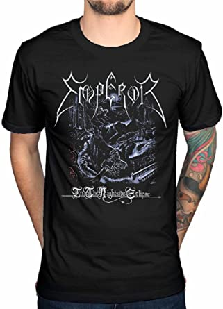 Emperor /'In The Nightside Eclipse/' T-Shirt NEW /& OFFICIAL!