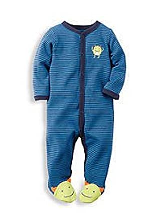 7d83f8bc6 Amazon.com  Carter s Baby Boys  Cotton Sleep   Play Pajamas (Preemie ...