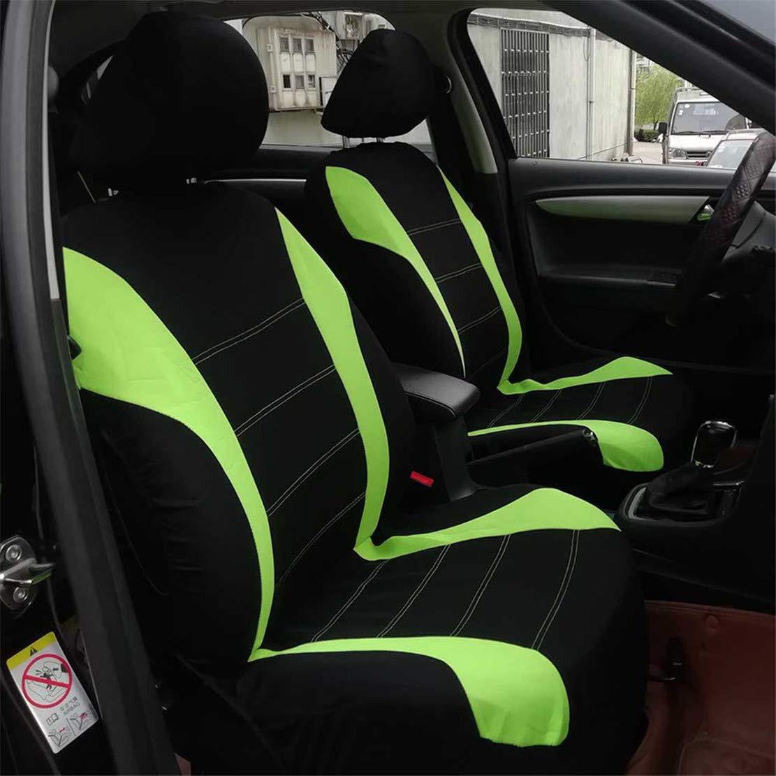 2x coche asiento delantero cubre protector para SKODA CITIGO