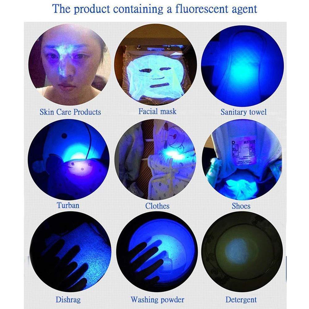 Matching with Pet Odor Eliminator Ultra Violet LED Flashlight//Blacklight 395nm LED UV Flashlights Black light for Ultraviolet Blacklight Pet Urine Detector For Dog//Cat Urine,Dry Stains,Bed Bug