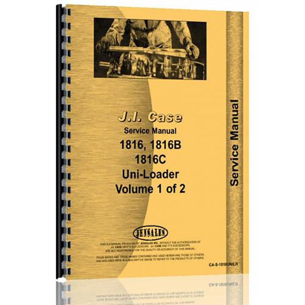 Amazon.com: New Case 1816 Skid Steer Service Manual: Industrial & Scientific