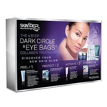 Amazon.com: skinpep 4 paso círculo oscuro & bolsas de ojos ...