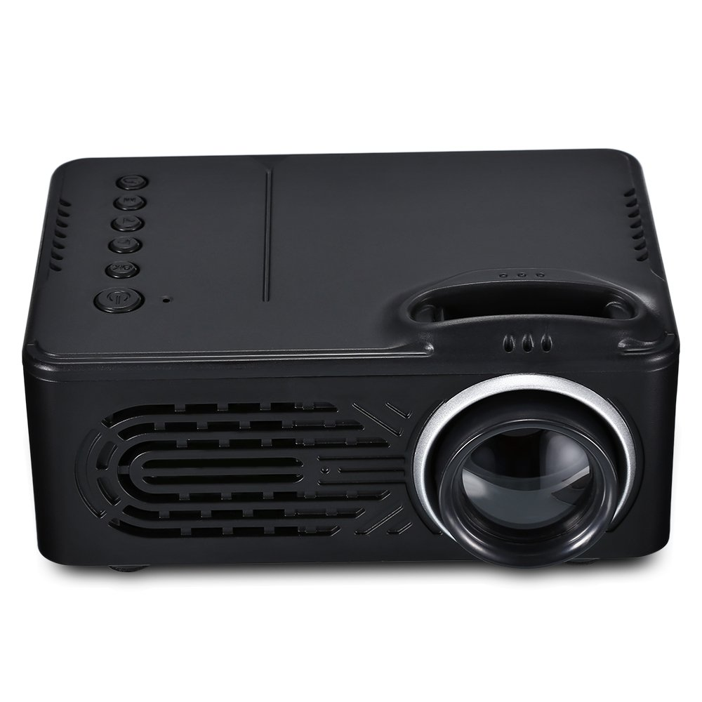 Qwhome Mini proyector, RD-810 LED proyector portátil, Multimedia ...