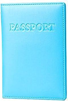 BOCA Funda Pasaporte con Protección RFID, Funda de Cuero con ...