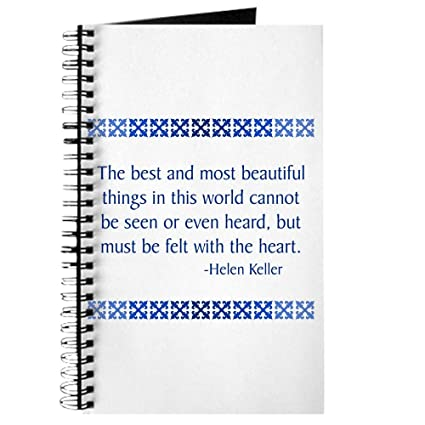 amazon com cafepress keller spiral bound journal notebook