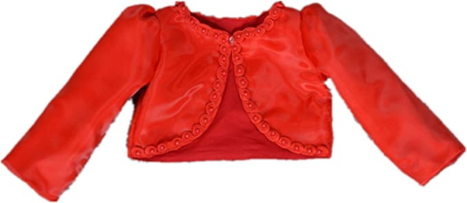 HX Baby Girls Beaded Long Sleeve Bolero Shrug Jacket Short Cardigan Dress Outerwear