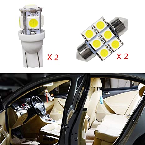 Cobear para CX-7 Super Brillante Fuente de luz LED Interior Lámpara de Coche Bombillas