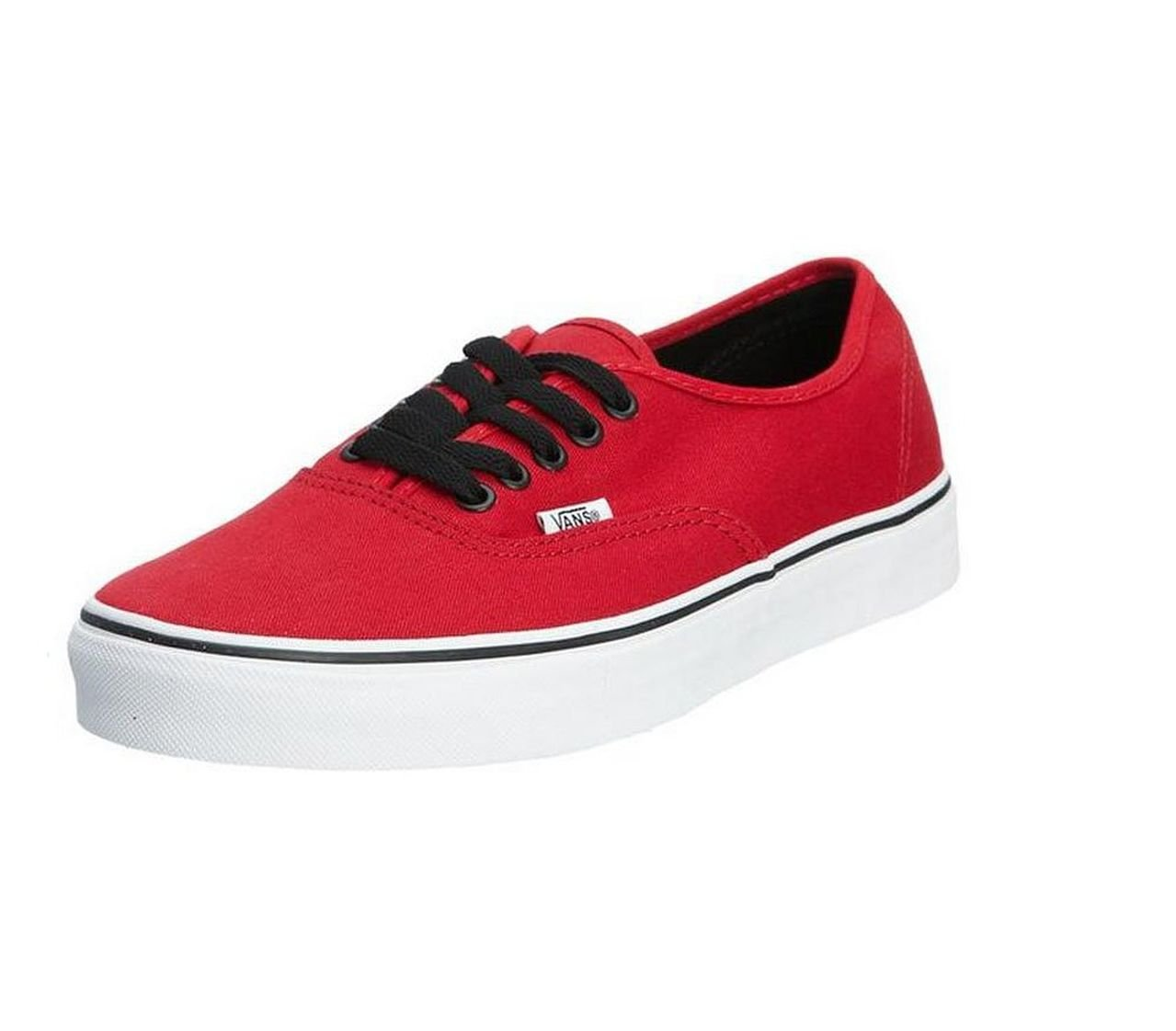 Vans Classic Authentic Canvas Shoes - Chili Pepper Red - 10.5