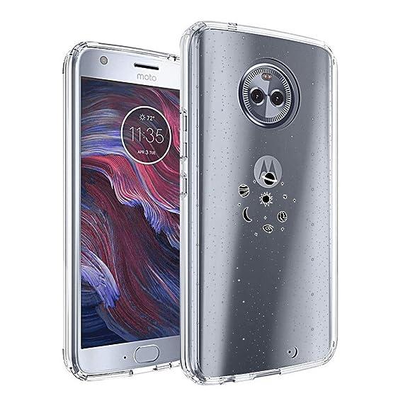 Amazon.com  Planet Moto X4 Case Clear e6e4e832869