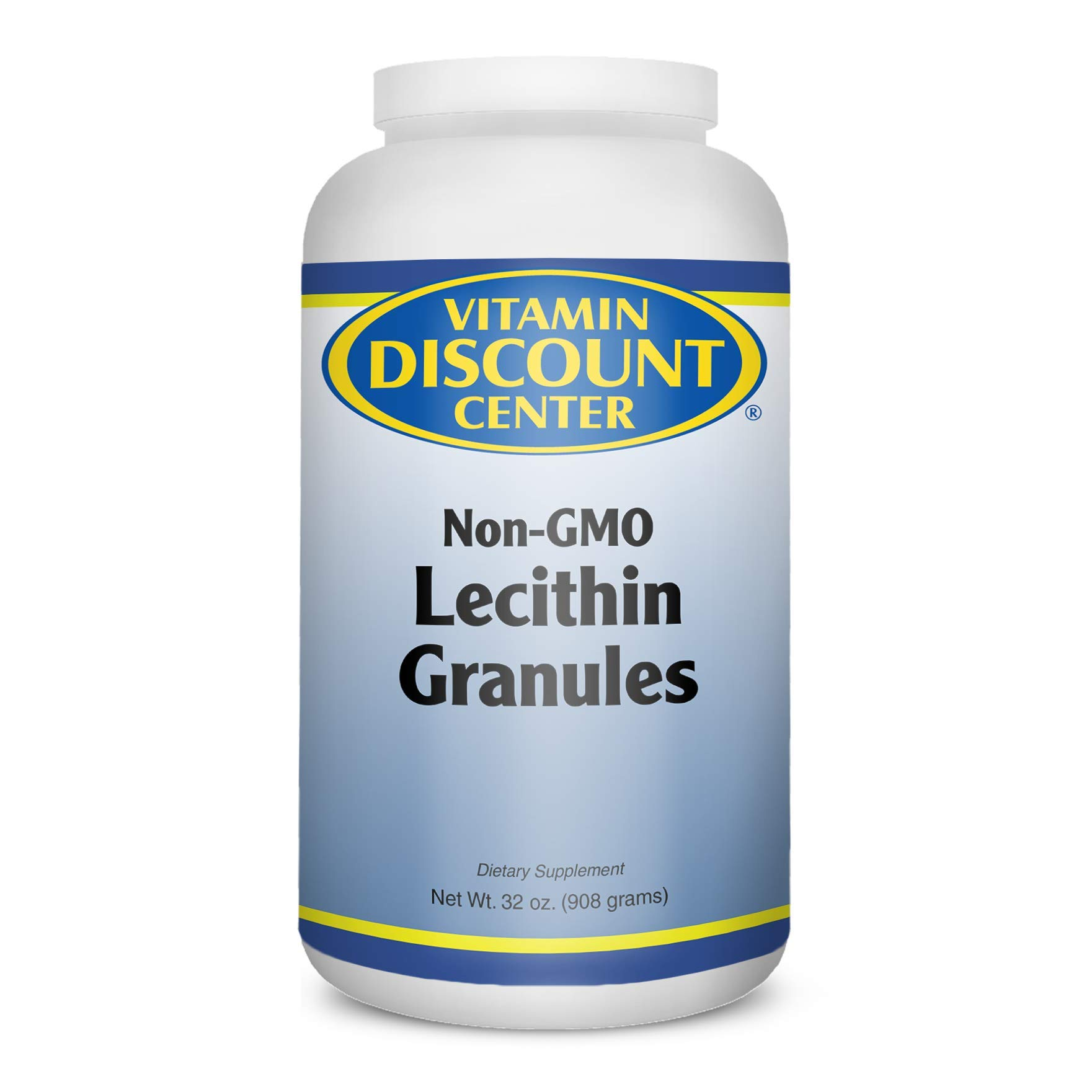 Vitamin Discount Center Lecithin Granules, Non-GMO, 32 oz