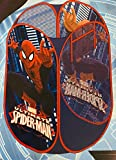 Spiderman Hamper Laundry Toys Washing Tidy Bin Storage Pop Up Basket Kids Bag