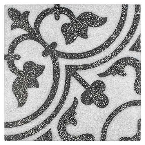 SomerTile FAZATPCE Clemente Palazzo Porcelain Floor and Wall Tile 9.88