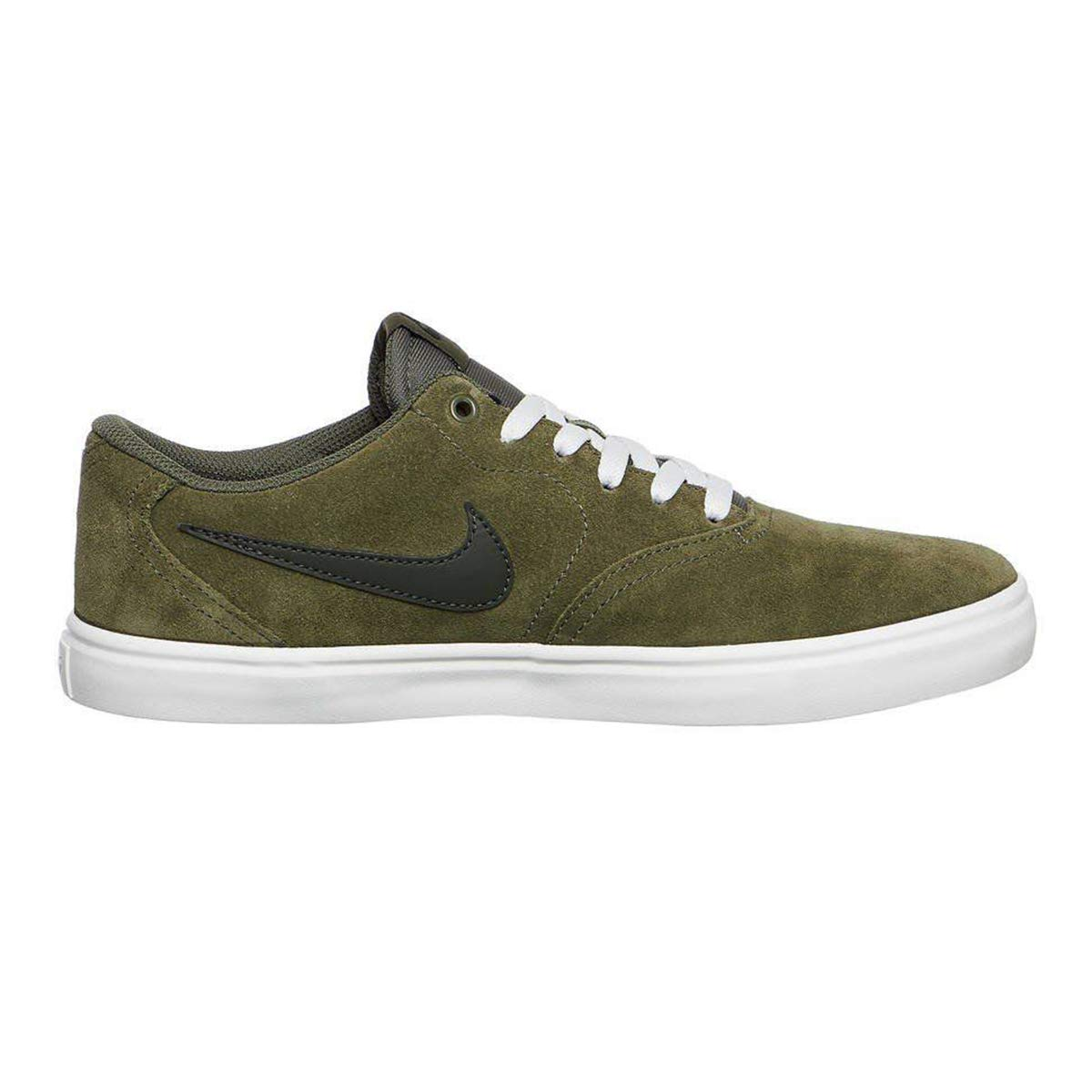 3b90d1b67362f Galleon - NIKE Men's SB Check Solar Shoes Olive/Sequoia/Summit White 7.5