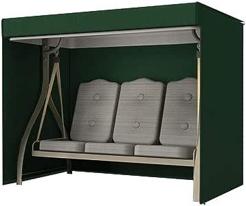 chlius Funda para Balancín De Jardín, Funda para Silla De Columpio para 3 Plazas Cubierta para Hamaca, Fundas para Balancines Cubierta para Muebles De Patio con Cremalleras 220x125x170cm: Amazon.es: Hogar