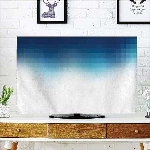 Funda para televisor LCD, decoración azul marino, diseño de ...