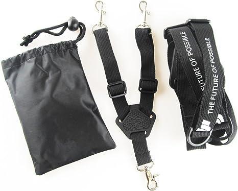 Penivo Control Remoto Doble Correa de Hombro Cinturón Correa de Cuello Sling Lanyard para dji Phantom 4/3/2 Inspire 1 Transmisor: Amazon.es: Deportes y aire libre